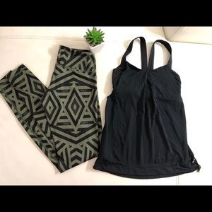 Lululemon 🖤 Black Tank Top